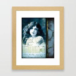 Desdemona's Final Song Framed Art Print