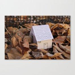 Travel House~1# Canvas Print
