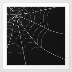 SPIDERWEB SPOOKNESS Art Print