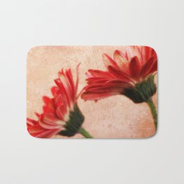 Red Texture 2 Bath Mat