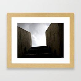 Between Walls Framed Art Print