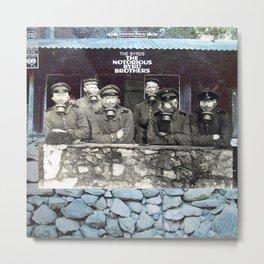 Notorious Byrd Brothers Metal Print