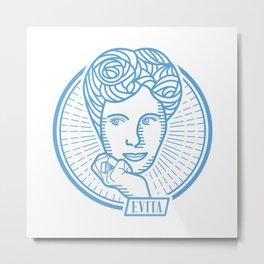 Eva Perón - Evita Metal Print