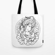 Zodiac Series   Pisces Tote Bag