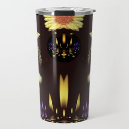 Stars Over The Sacred Sea Of Candles Travel Mug