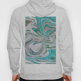 Marmalade Marble - Blue Hoody