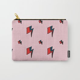 Hallo Spaceboy in Pretty Pink Rose Carry-All Pouch