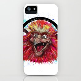 Labyrinths Fiery iPhone Case