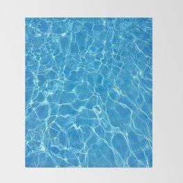 pool water Throw Blanket