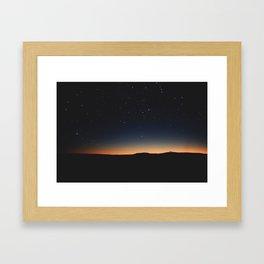 Light of my life Framed Art Print