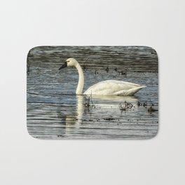 Tundra Swan Bath Mat