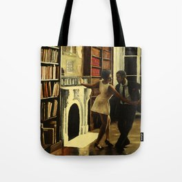 Lindy Hop in the Library Tote Bag