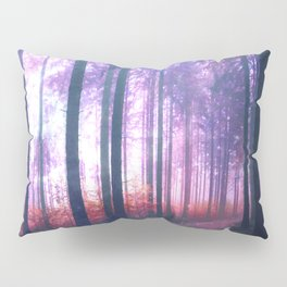 Woods in the outer space Pillow Sham