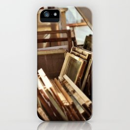 stacked windows iPhone Case