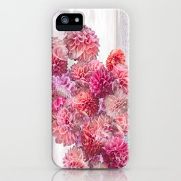 Floral Fog Horn iPhone Case
