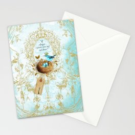 My nest is beautiful Stationery Cards