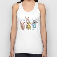 projectrocket Tank Tops featuring Bursting Bubbles by Randy C