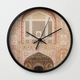 Amber Fort Door  Wall Clock