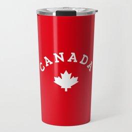 Canada Day Maple Leaf Travel Mug