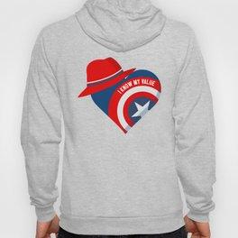 Superhero Heart Agent Hoody