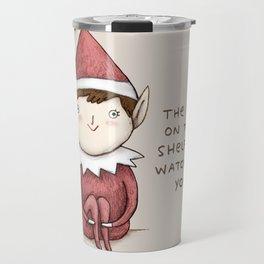 The Elf on The Shelf Travel Mug