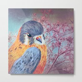 Bird Watching Metal Print