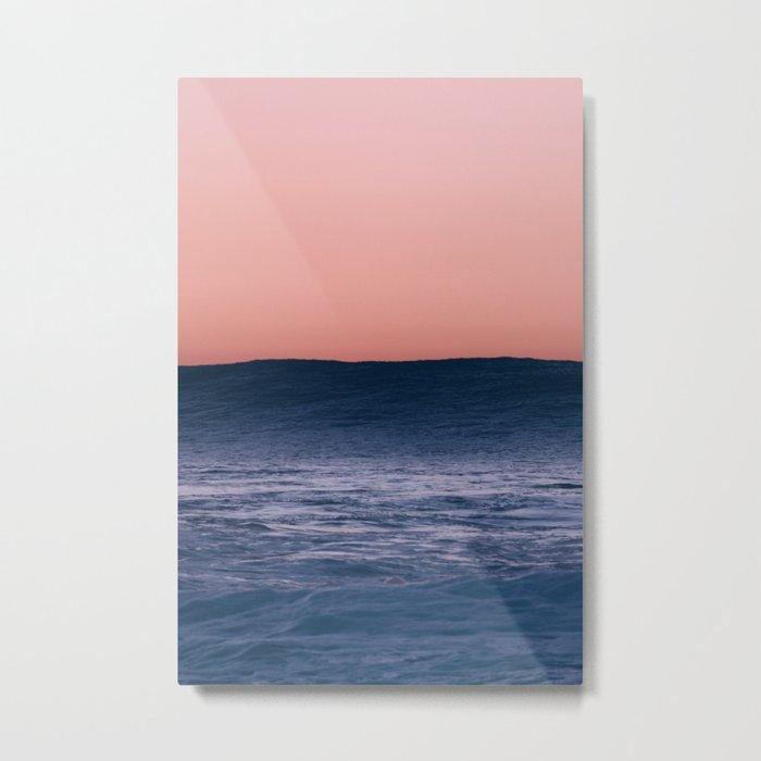 Dark Wave Metal Print