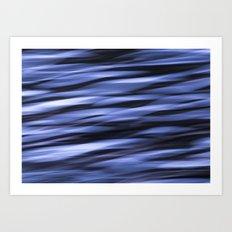 Abstract Water Art Print