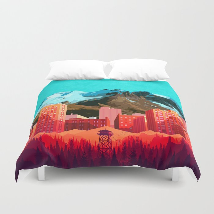 Boss City Duvet Cover