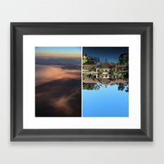 PALETTE Framed Art Print