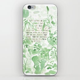 """Conquest of the Useless"" by Werner Herzog Print (v. 2) iPhone Skin"