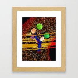 Moon Crop Framed Art Print