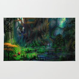 The Ancient Swamp Rug