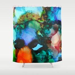 Hidden Faces Shower Curtain