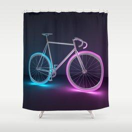 Fixed Gear Shower Curtain