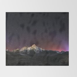 Everest Nightscape Throw Blanket