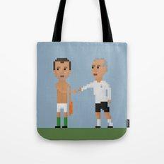 Roy Keane / Mick McCarthy handshake Tote Bag
