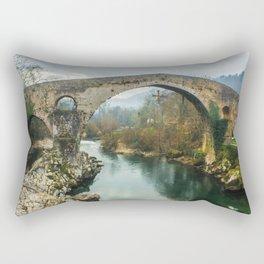 Asturias Roman Bridge Rectangular Pillow