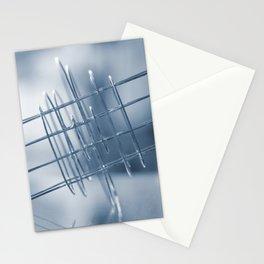 Dark blue world Stationery Cards