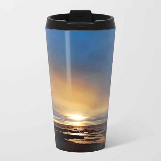 The Light under the Storm Metal Travel Mug