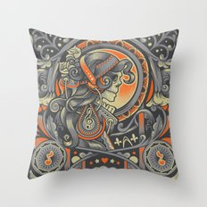 Mysctical Interlude Throw Pillow