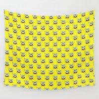spongebob Wall Tapestries featuring SPONGEBOB by September 9