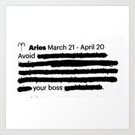 Aries 1 Art Print