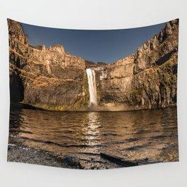 Desert Waterfall - Summer In Palouse Wall Tapestry