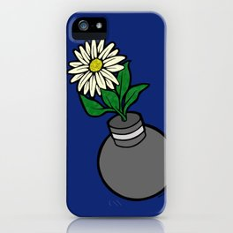 Flower-bomb iPhone Case