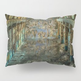 Apocalyptic Vision of the Sistine Chapel Rome 2020 Pillow Sham