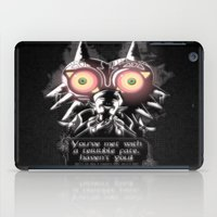 majora iPad Cases featuring Majora Mask by Janismarika
