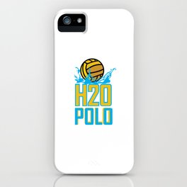 H20 Water Polo iPhone Case