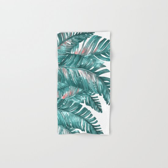 tropical blue Hand & Bath Towel