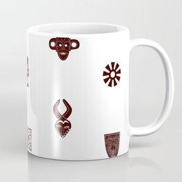 African Spirit   Pattern Art Coffee Mug